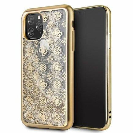 4G Peony Glitter Pouzdro pro iPhone 11 Pro zlaté (EU Blister)