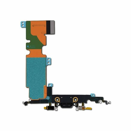 8 Flex Kabel vč. Dobíjecího Konektoru černý