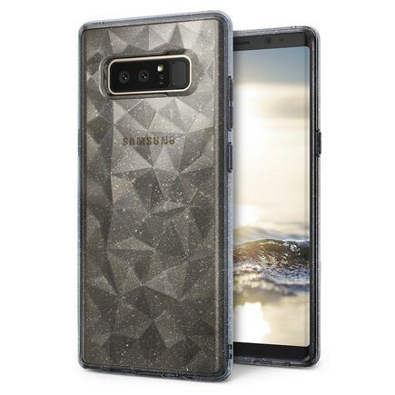 Air Prism Glitter lesklé gelové pouzdro 3D Samsung Galaxy Note 8 N950 šedé (APSG0016-RPKG)