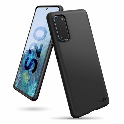 Air S ultratenké gelové pouzdro Samsung Galaxy S20 černé (ADSG0018)