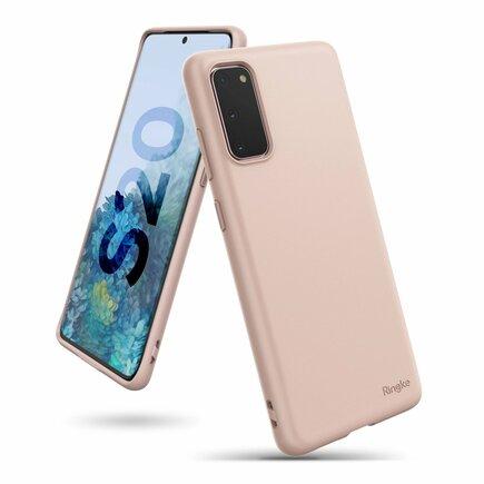 Air S ultratenké gelové pouzdro Samsung Galaxy S20 růžové (ADSG0011)