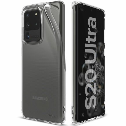 Air ultratenké gelové pouzdro Samsung Galaxy S20 Ultra průsvitné (ARSG0027)