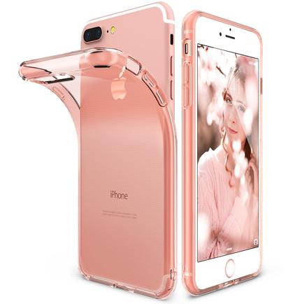 Air ultratenké gelové pouzdro iPhone 8 Plus / 7 Plus růžové