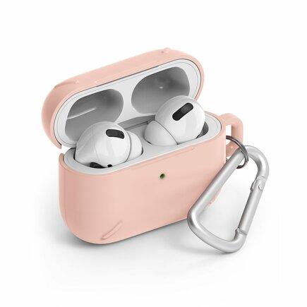 AirPods Case odolné pouzdro na sluchátka AirPods Pro + karabinka AirPods Pro růžové (ACEC0014)