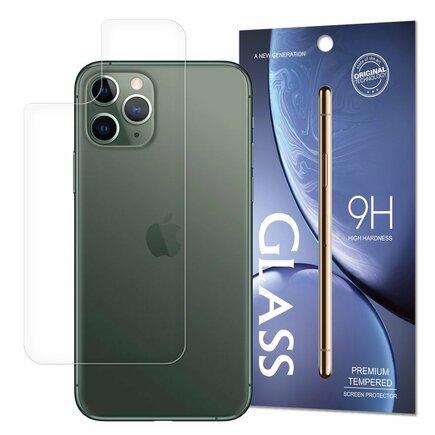 Back Tempered Glass tvrzené sklo 9H na zadní stranu telefonu iPhone 11 Pro Max