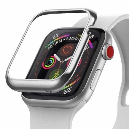 Bezel Styling pouzdro pro Apple Watch 44 mm stříbrné (RGAP0010)