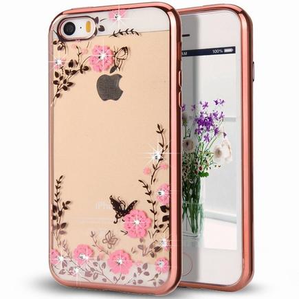 Bloomy Case designové gelové pouzdro Samsung Galaxy J5 2017 J530 růžové