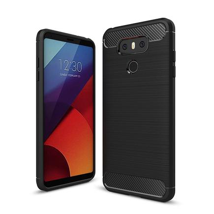 Carbon Case elastické pouzdro LG G6 H870 černé