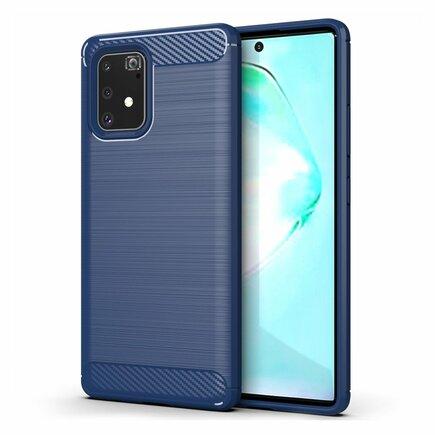 Carbon Case elastické pouzdro Samsung Galaxy S10 Lite modré