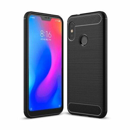 Carbon Case elastické pouzdro Xiaomi Mi A2 Lite / Redmi 6 Pro černé