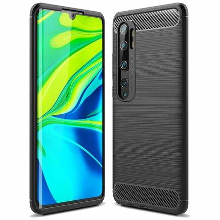 Carbon Case elastické pouzdro Xiaomi Mi Note 10 / Mi Note 10 Pro / Mi CC9 Pro černé