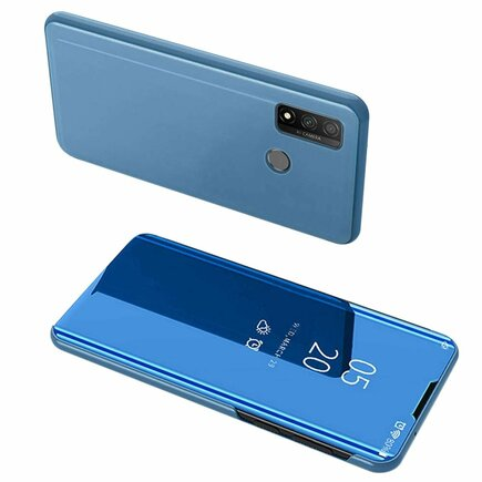 Clear View Case pouzdro s klapkou Huawei P Smart 2020 modré