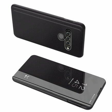 Clear View Case pouzdro s klapkou LG K50S černé