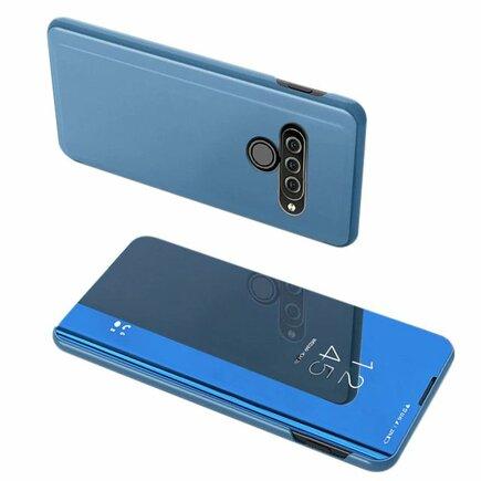 Clear View Case pouzdro s klapkou LG K50S modré