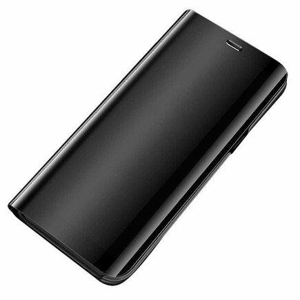 Clear View Case pouzdro s klapkou Xiaomi Mi 10 Lite černé