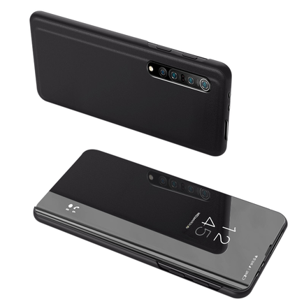 Clear View Case pouzdro s klapkou Xiaomi Mi 10 Pro / Xiaomi Mi 10 černé