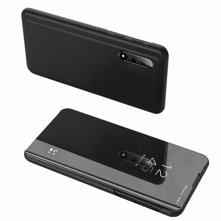 Clear View Case pouzdro s klapkou Xiaomi Mi CC9e / Xiaomi Mi A3 černé