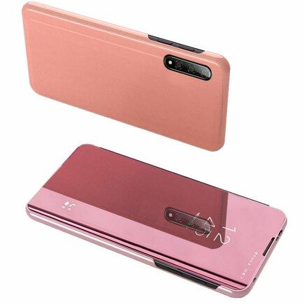 Clear View Case pouzdro s klapkou Xiaomi Mi CC9e / Xiaomi Mi A3 růžové