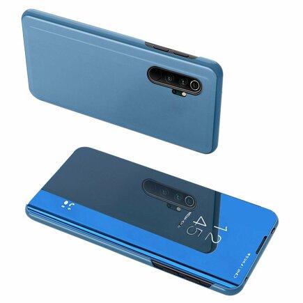 Clear View Case pouzdro s klapkou Xiaomi Mi Note 10 / Mi Note 10 Pro / Mi CC9 Pro modré