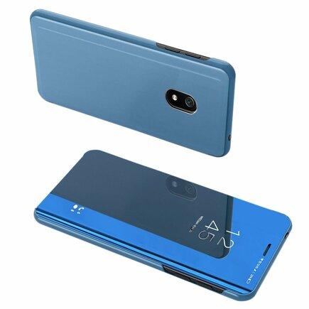 Clear View Case pouzdro s klapkou Xiaomi Redmi 8A modré