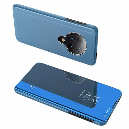 Clear View Case pouzdro s klapkou Xiaomi Redmi K30 Pro / Poco F2 Pro modré