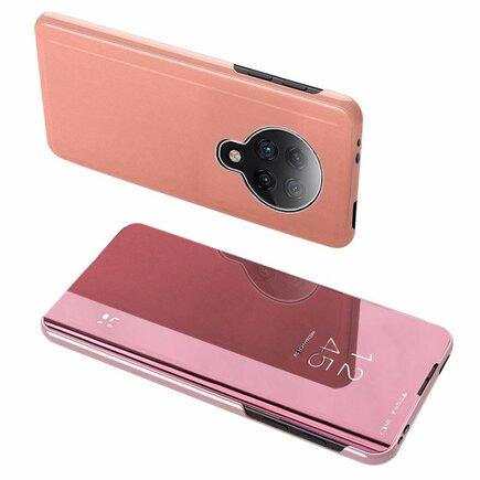 Clear View Case pouzdro s klapkou Xiaomi Redmi K30 Pro / Poco F2 Pro růžové