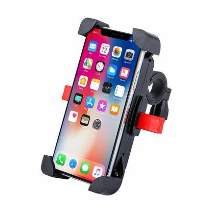 Cyklistický držák pro telefon na řídítka černý