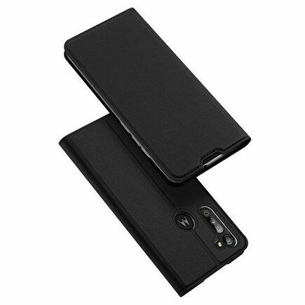 DUX DUCIS Skin Pro pouzdro s klapkou Motorola Moto G8 Power Lite černé