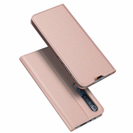 DUX DUCIS Skin Pro pouzdro s klapkou Xiaomi Mi 10 Pro / Xiaomi Mi 10 růžové