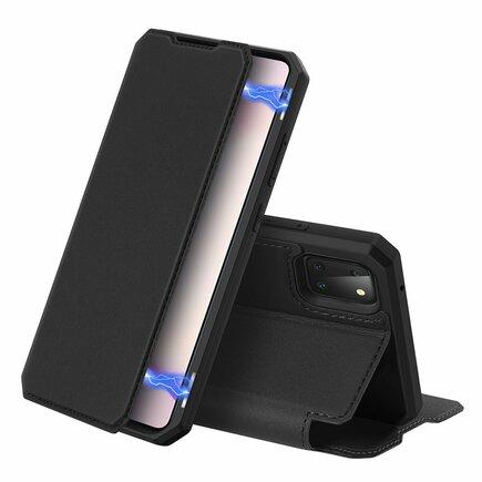 DUX DUCIS Skin X pouzdro s klapkou Samsung Galaxy Note 10 Lite černé