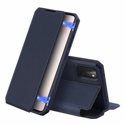 DUX DUCIS Skin X pouzdro s klapkou Samsung Galaxy Note 10 Lite modré
