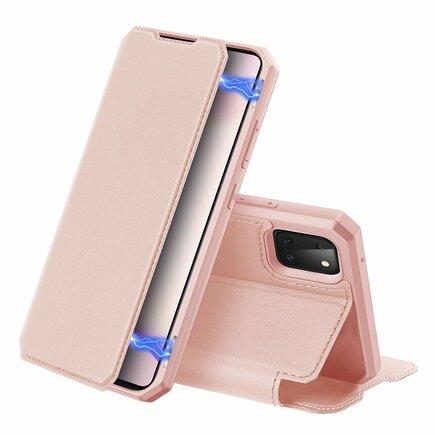DUX DUCIS Skin X pouzdro s klapkou Samsung Galaxy Note 10 Lite růžové