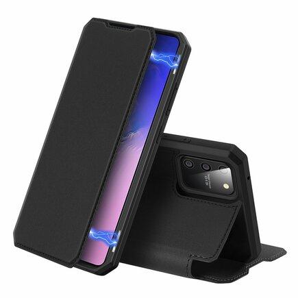 DUX DUCIS Skin X pouzdro s klapkou Samsung Galaxy S10 Lite černé