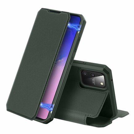 DUX DUCIS Skin X pouzdro s klapkou Samsung Galaxy S10 Lite zelené