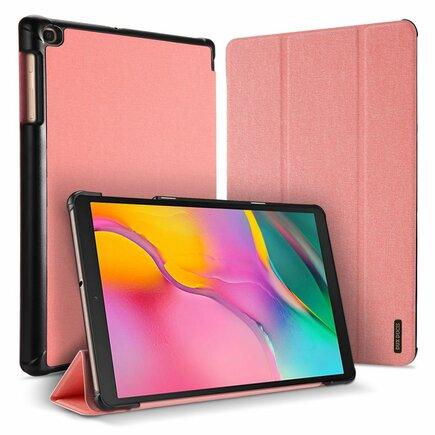 Domo skládané pouzdro na tablet s funkcí Smart Sleep podstavec Samsung Galaxy Tab A 10.1 2019 T515 T510 růžové