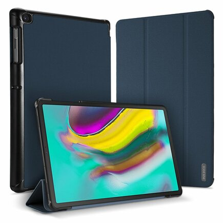 Domo skládané pouzdro na tablet s funkcí Smart Sleep podstavec Samsung Galaxy Tab S5e T720 T725 modré