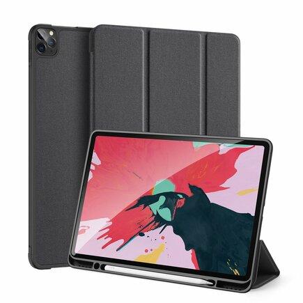 Domo skládané pouzdro na tablet s funkcí Smart Sleep podstavec iPad Pro 12.9'' 2020 černé