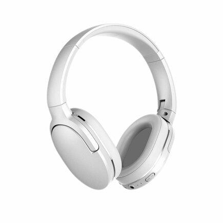 Encok D02 bezdrátová sluchátka na uši Bluetooth 5.0 450 mAh bílá (NGD02-02)