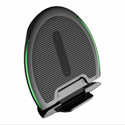 Foldable bezdrátová nabíječka Qi indukční skládaný podstavec 10W černá (WXZD-01)