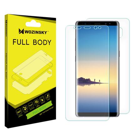 Full Body hydrogel samo regenerační ochranná fólie na celý telefon Samsung Galaxy Note 8 N950