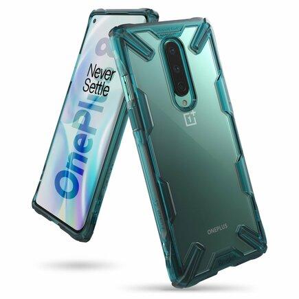 Fusion X pancéřové pouzdro s rámem OnePlus 8 zelené (FXOP0012)