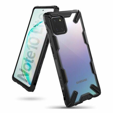 Fusion X pancéřové pouzdro s rámem Samsung Galaxy Note 10 Lite černé (FUSG0047)