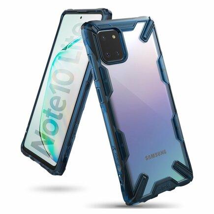 Fusion X pancéřové pouzdro s rámem Samsung Galaxy Note 10 Lite modré (FUSG0048)
