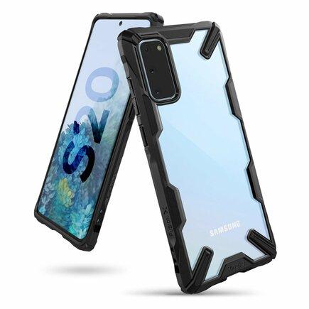 Fusion X pancéřové pouzdro s rámem Samsung Galaxy S20 černé (FUSG0041)
