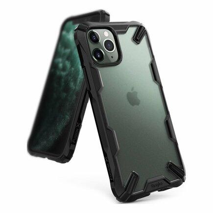 Fusion X pancéřové pouzdro s rámem iPhone 11 Pro Max černé (XMAP0003)