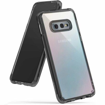 Fusion pouzdro s gelovým rámem Samsung Galaxy S10e černé (FSSG0062-RPKG)