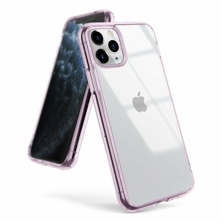 Fusion pouzdro s gelovým rámem iPhone 11 Pro Max fialové (FSAP0048)