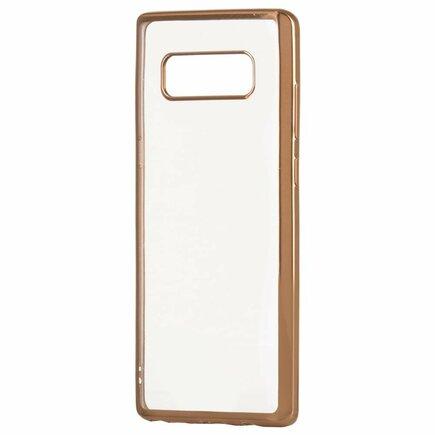 Gelové pouzdro Metalic Slim Sony Xperia XA2 zlaté