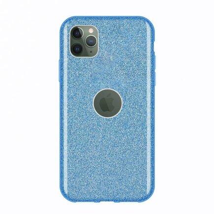 Glitter Case lesklé pouzdro s brokátem iPhone 11 Pro Max modré