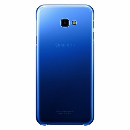 Gradation Cover pevné pouzdro s gradientem Samsung Galaxy J4 Plus 2018 modré (EF-AJ415CLEGWW)